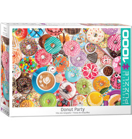 Eurographics Donut Party - 1000 Piece Puzzle