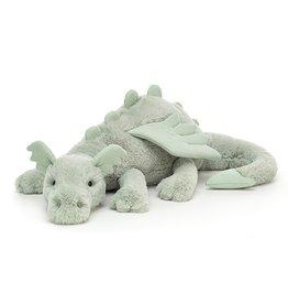 Jellycat Sage Dragon - Huge