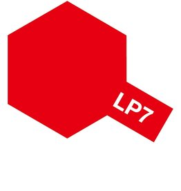 Tamiya 82107 - LP-7 Pure Red Lacquer Paint 10ml