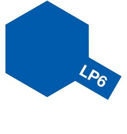 Tamiya 82106 - LP-6 Pure Blue Lacquer Paint 10ml