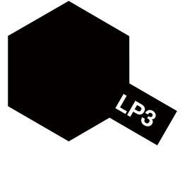 Tamiya 82103 - LP-3 Flat Black Lacquer Paint 10ml