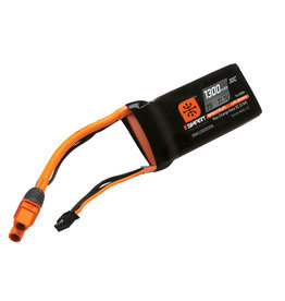 Spektrum SPMX13003S30M - 11.1V 1300mAh 3S 30C Smart LiPo Battery: IC3
