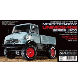 Tamiya 1/10 Mercedes-Benz Unimog 406 - CC-02S Chassis Kit