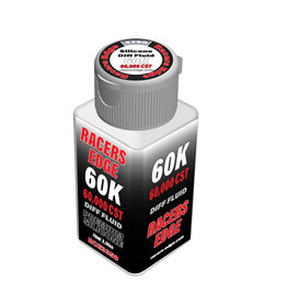 Racers Edge RCE3350 - 60,000cSt 70ml 2.36oz Pure Silicone Diff Fluid