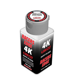 Racers Edge RCE3310 - 4,000cSt 70ml 2.36oz Pure Silicone Diff Fluid