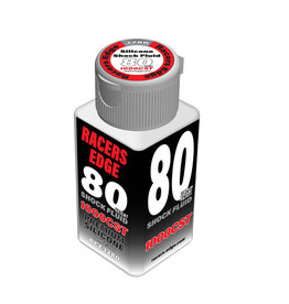 Racers Edge RCE3280 - 80 Weight, 1,000cSt, 70ml 2.36oz Pure Silicone Shock Oil