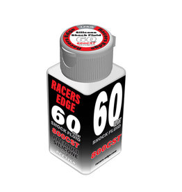 Racers Edge RCE3260 - 60 Weight, 800cSt, 70ml 2.36oz Pure Silicone Shock Oil