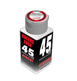 Racers Edge RCE3245 - 45 Weight, 575cSt, 70ml 2.36oz Pure Silicone Shock Oil