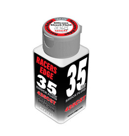 Racers Edge RCE3235 - 35 Weight, 425cSt, 70ml 2.36oz Pure Silicone Shock Oil