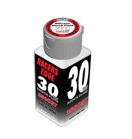 Racers Edge RCE3230 - 30 Weight, 350cSt, 70ml 2.36oz Pure Silicone Shock Oil