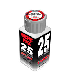 Racers Edge RCE3225 - 25 Weight, 275cSt, 70ml 2.36oz Pure Silicone Shock Oil