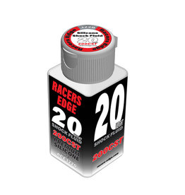 Racers Edge RCE3220 - 20 Weight, 200cSt, 70ml 2.36oz Pure Silicone Shock Oil