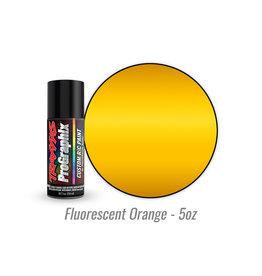 Traxxas 5061 - Fluorescent Orange - 5oz - Polycarbonate Spray