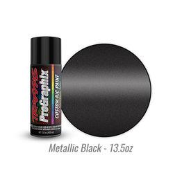 Traxxas 5075X - Metallic Black - 13.5oz - Polycarbonate Spray