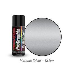 Traxxas 5073X - Metallic Silver - 13.5oz - Polycarbonate Spray