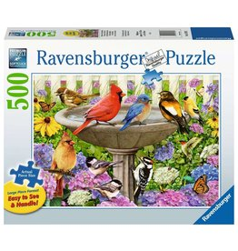 Ravensburger At the Birdbath - 500 Piece Puzzle