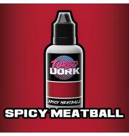Turbo Dork Spicy Meatball Metallic Acrylic Paint - 20ml Bottle