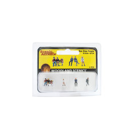 Woodland Scenics A2134 - N Scale Bus Stop People