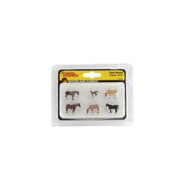 Woodland Scenics A2141 - N Scale Farm Horses