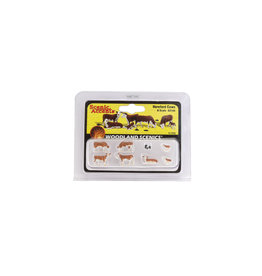 Woodland Scenics A2144 - N Scale Hereford Cows