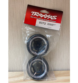 "Traxxas 9372 - Split Spoke Black Chrome Wheels / 1.9"" Response Tires"
