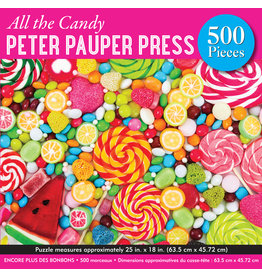 Peter Pauper Press All the Candy - 500 Piece Puzzle
