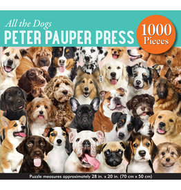 Peter Pauper Press All the Dogs - 1000 Piece Puzzle