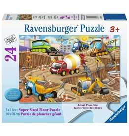 Ravensburger Construction Fun - 24 Piece Floor Puzzle