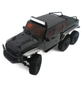 Panda 1/18 Tetra X1 6X6 RTR Scale Mini Crawler - Black