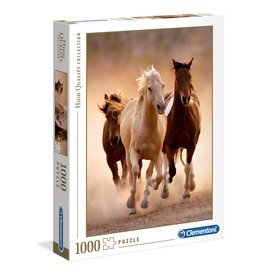 Clementoni Running Horses - 1000 Piece Puzzle