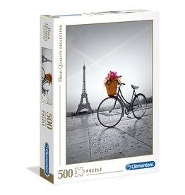 Clementoni Romantic Promenade in Paris - 500 Piece Puzzle