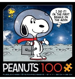 Ceaco Peanuts - Moon Beagle - 100 Piece Puzzle