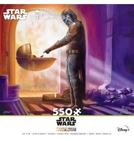 Ceaco Star Wars: The Mandalorian - Turning Point - 550 Piece Puzzle