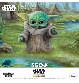 Ceaco Star Wars: The Mandalorian - Child's Play - 550 Piece Puzzle