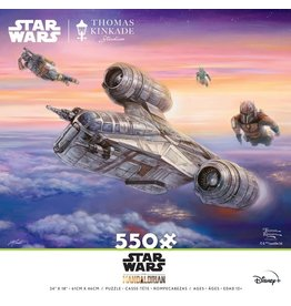 Ceaco Star Wars: The Mandalorian - The Escort - 550 Piece Puzzle