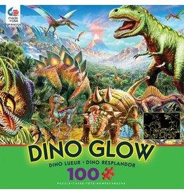 Ceaco Dino Party - 100 Piece Glow in the Dark Puzzle