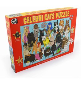 Ginger Fox Celebrity Cats - 1000 Piece Puzzle