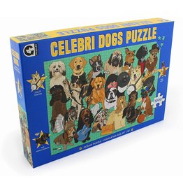 Ginger Fox Celebrity Dogs - 1000 Piece Puzzle