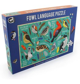 Ginger Fox Fowl Language - 1000 Piece Puzzle