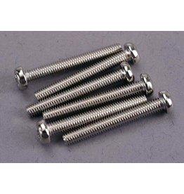 Traxxas 2567 - Roundhead Screws, 3x23mm (6)