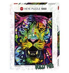 Heye Wild Tiger - 1000 Piece Puzzle