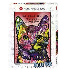 Heye 9 Lives - 1000 Piece Puzzle