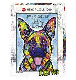 Heye Dogs Never Lie - 1000 Piece Puzzle