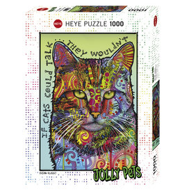 Heye If Cats Could Talk - 1000 Piece Puzzle