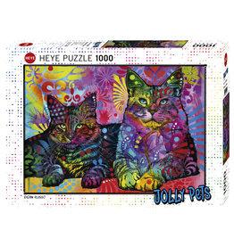 Heye Devoted 2 Cats - 1000 Piece Puzzle
