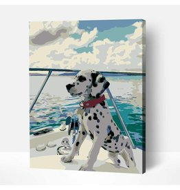 Wise Elk Artwille - Dalmation DIY Paint by Numbers