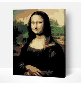 Wise Elk Artwille - Jaconda (Mona Lisa) DIY Paint by Numbers