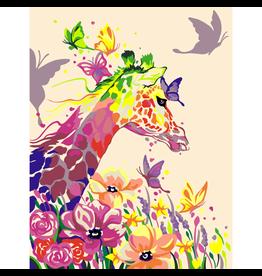 Wise Elk Artwille - Giraffe Dreamer DIY Paint by Numbers