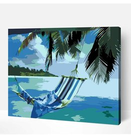 Wise Elk Artwille - Paradise Island DIY Paint by Numbers