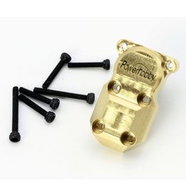 Power Hobby PHBPHSCX2405 - Axial SCX24 Brass Diff Cover